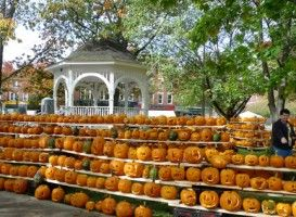 You can't miss the Keene Pumpkin Festival! Mark your calendars for October 20, 2012.