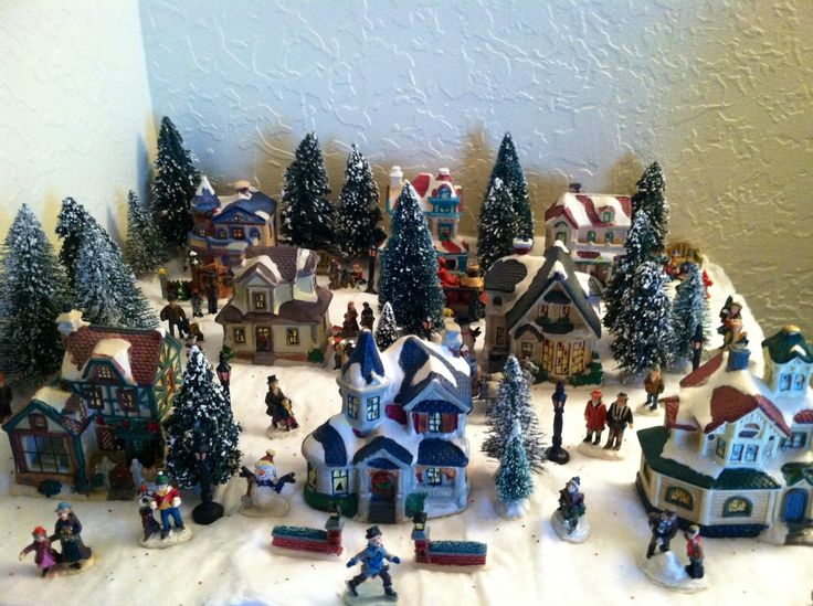 cobblestone corners christmas village collection merry