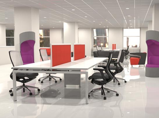 Furniture Systems Office Collaborative Workspace Contract Furniture Desks Connection Zone