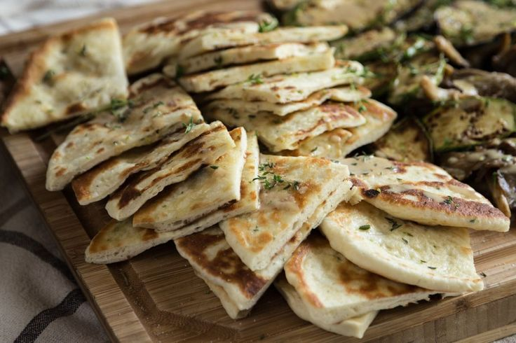 These homemade pita bread are usually served with Greek suvlaki! They are soft, puffy and a little more bread like!   Combine the sugar, yeast, water and milk in a bowl. Set...