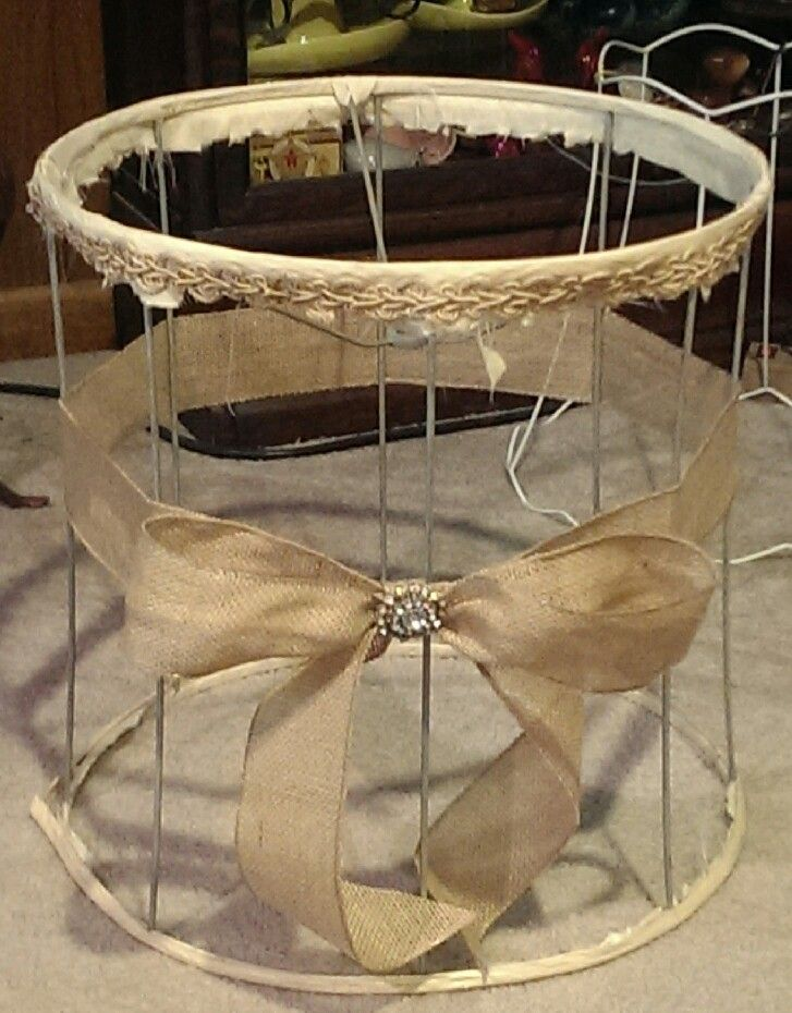 Best 25 burlap lamp shades ideas on pinterest shabby chic lamp should be called naked lamp shade with burlap bow this is what mine currently looks likethat i need to repair aloadofball Images