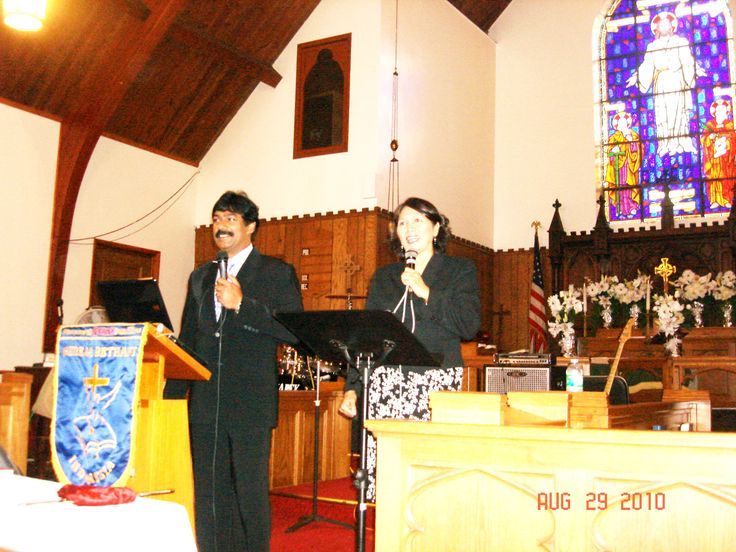 Preaching at New York USA