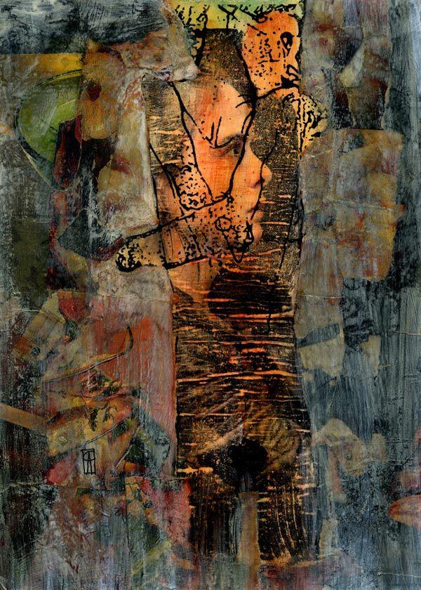 2- KARMA de ARTE. Egon Schiele I Pintura Mixta.  www.crisacqua.com