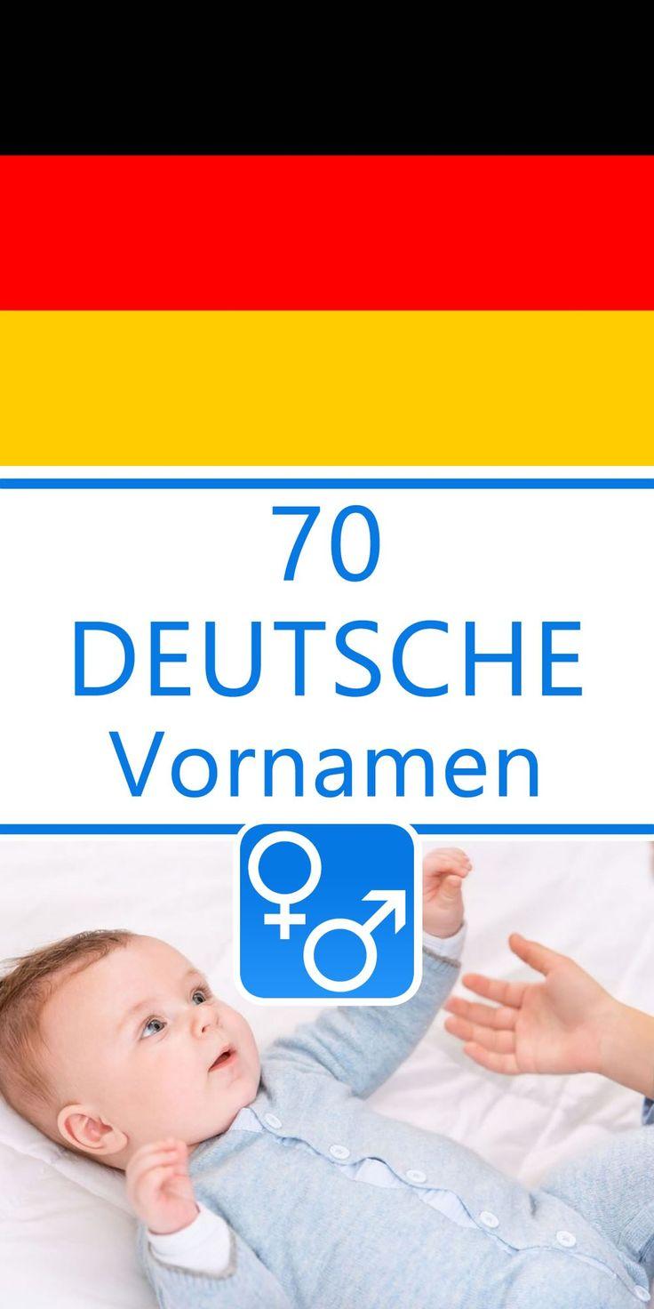 Vornamen Jungen Deutsch