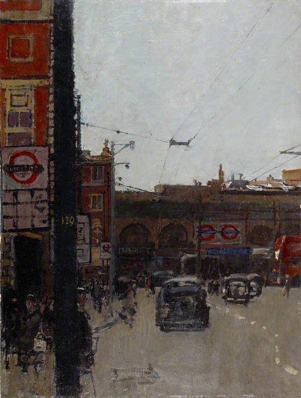 Hammersmith Broadway - ruskin spear