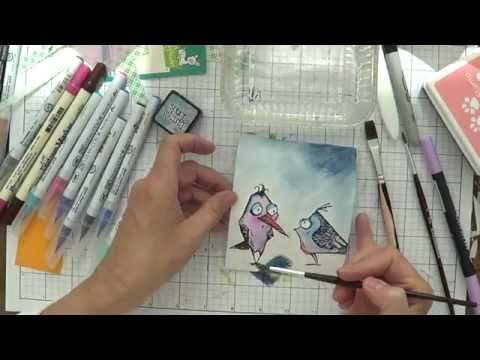 DAY 23 Crazy Birds How to Color Quickly - YouTube