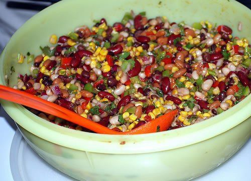 Learn how to make this simple bean salad recipe at home.