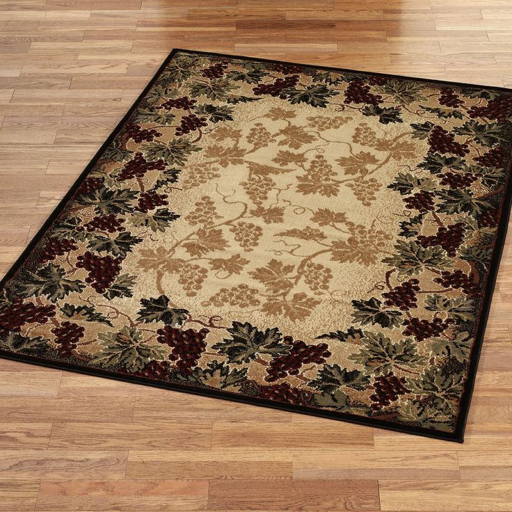 Tuscan Kitchen Rugs | Kitchen Grape Rugs Http://www.touchofclass.com