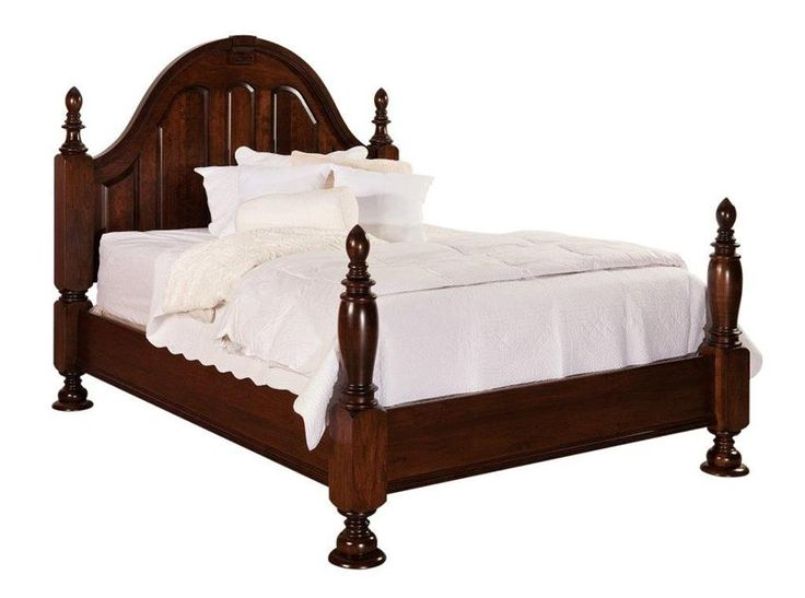Amish Rosemont Bed The Rosemont Bed is  a true romantic. This french country style furniture features beautiful carving in the headboard.