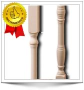Wood Balusters and Primed Stair Balusters