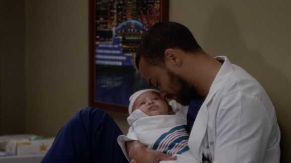 Jackson and April's baby! Japril baby!