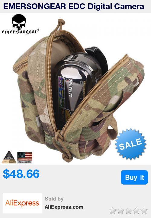 EMERSONGEAR EDC Digital Camera Waist Bag Molle System Military Airsoft Combat Gear Multicam Pouch Molle bag EM8349 * Pub Date: 11:46 Jul 10 2017