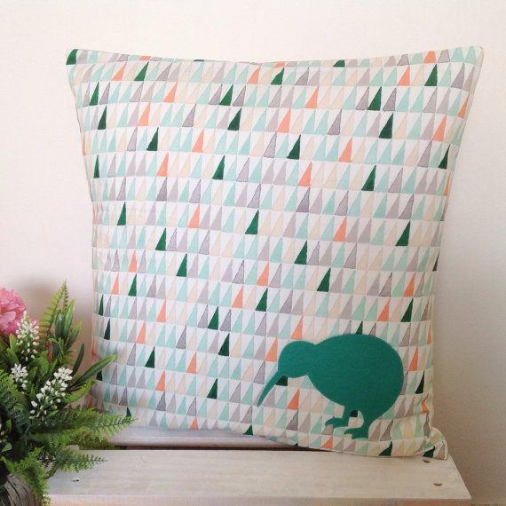Cushion Cover - Forrest | Green Teal Kiwi