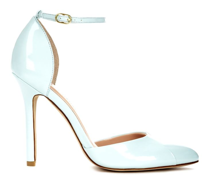 Mint pumps with almond toe. #mintobsessed