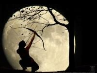 There are many dreams and superstitions about the Moon. The Old Farmer's Almanac offers a handful to contemplate.