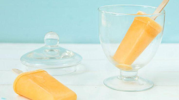 Mango lassi ijsje