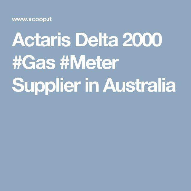 Actaris Delta 2000 #Gas #Meter Supplier in Australia