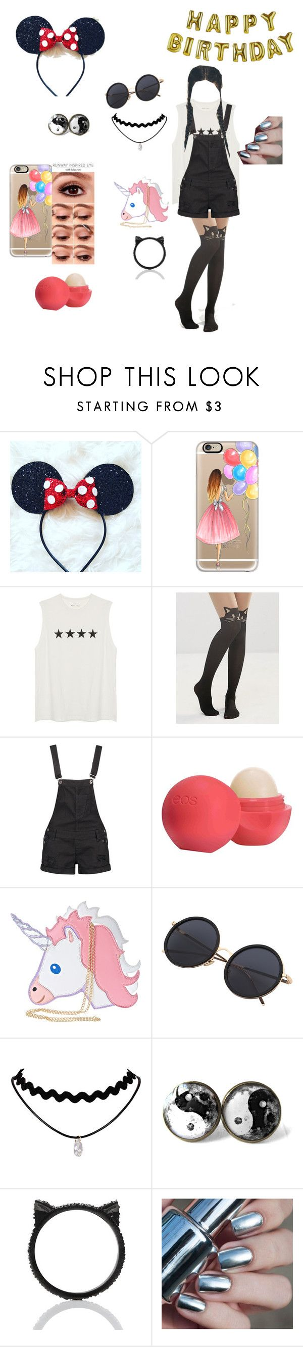 """HAPPY BIRTHDAY COURTNEY!"" by babycomics ❤ liked on Polyvore featuring Casetify, Talking Tables, Leg Avenue, Boohoo, Eos, Nila Anthony and Kate Spade"