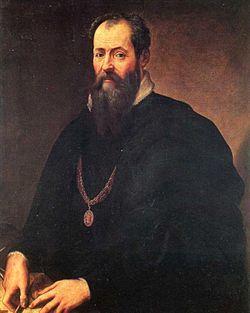 Giorgio Vasari (1511 – 1574) was een schilder en architect uit de Italiaanse renaissance en een van de eerste kunsthistorici door zijn biografieën van Italiaanse kunstenaars.