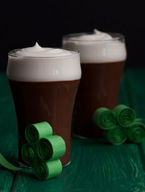 For an upcoming St.Patty's day party!: Chocolate Guinness, Chocolates, Recipe, Pudding, Guinness Goodness, Food, Dessert