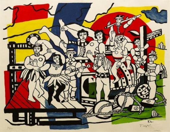 Fernand Léger, La Grande Parade