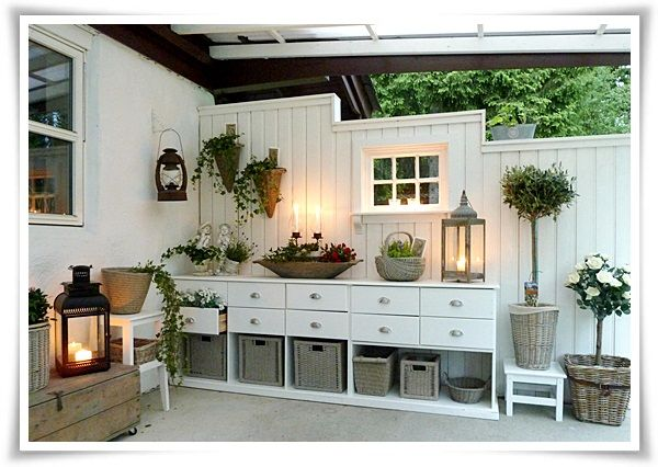 Love this... made from old dressers!