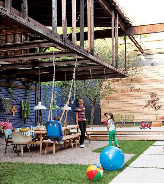 Die 25+ Besten Ideen Zu Neugestaltung Der Garagentor Auf Pinterest ... Gestaltungsideen Essbereich Im Freien