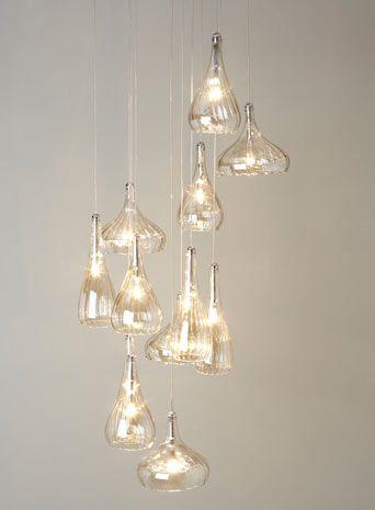 Carrara 12 Light Ceiling Pendant - clusters - ceiling lights - Home, Lighting & Furniture - BHS
