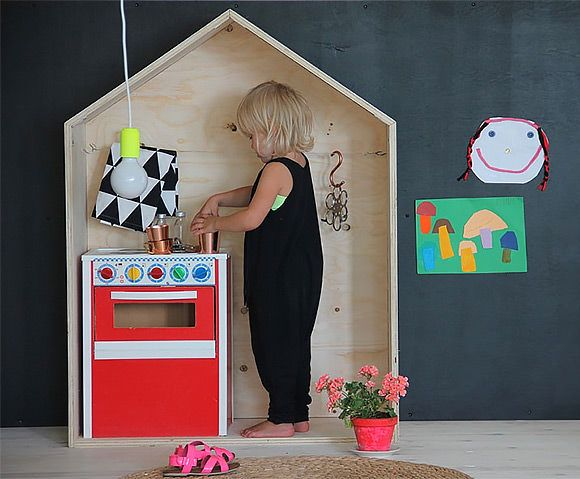 Plywood Play Furniture for Kids