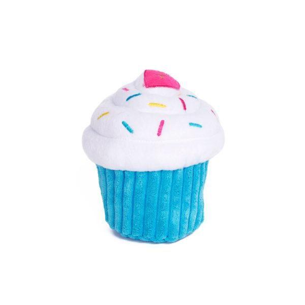 Plush Cupcake Dog Toy Dog Toys Blue Cupcakes Dog Birthday