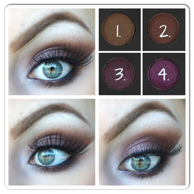 Fall 2013 Makeup - using Coastal Scents 252 Palette