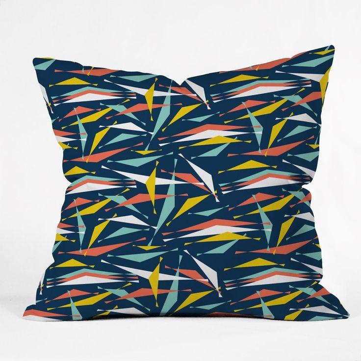 Heather Dutton Swizzlestick Party Girl Throw Pillow