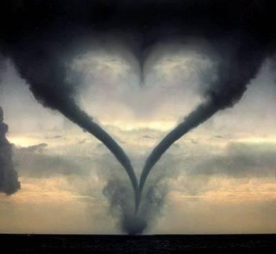 Tornado ♥: Picture, Heart Tornados, Twister, Heart Shape, Valentines Day, Cloud, Storms, Photo, Mothers Natural