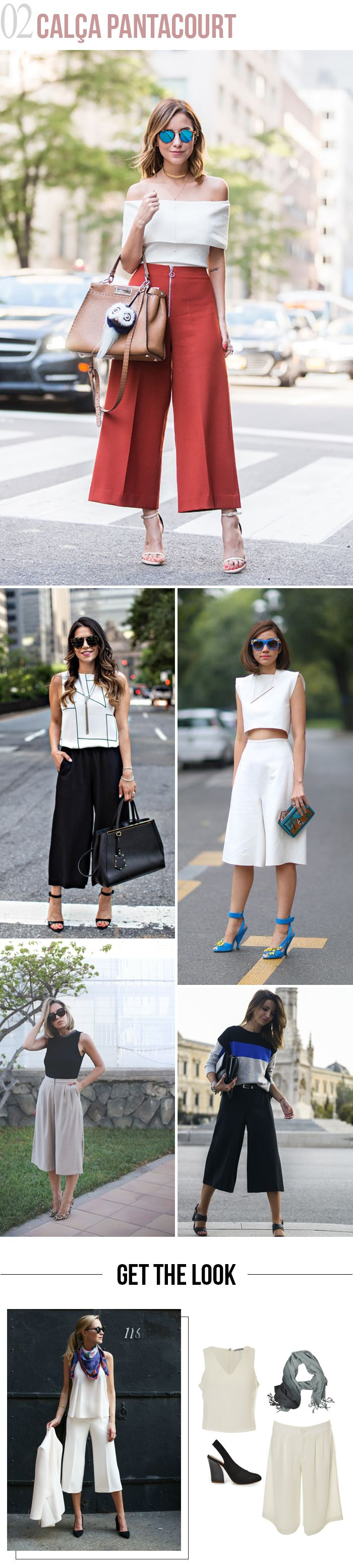 Look de trabalho: 4 jeitos de inovar! | Calça Pantacourt. #moda #look #outfit #ootd #trabalho #office #work #escritório #dicas #estilo #styling #comousar #getthelook #blog #looknowlook