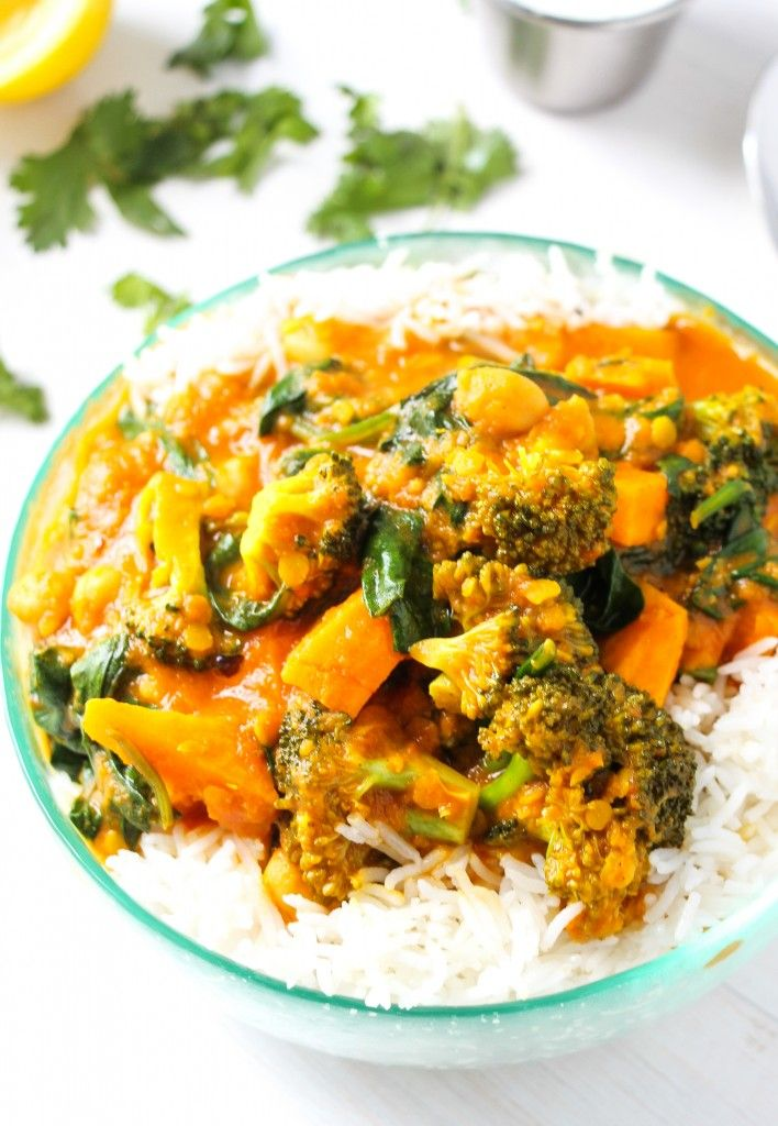 SOUTH ASIAN-SPICED VEGETABLE CURRY ~~~ while the choice of vegetables are entering modern indian cookery territory, the gravy construct remains closer to traditional. i am thinking a few curry leaves, mustard seeds, and starting with unground spices would take it even further into the stratosphere. [layersofhappiness]