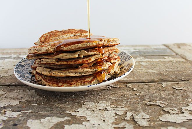 Coconut flour crepes - use flax egg