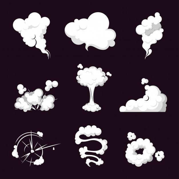 Collection Smoke Cloud Steam Explosion Speed In Motion Smoke Art Smoke Drawing Cloud Drawing