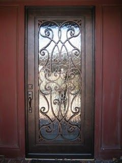 Wrought Iron Front Door | Iron Entry Doors