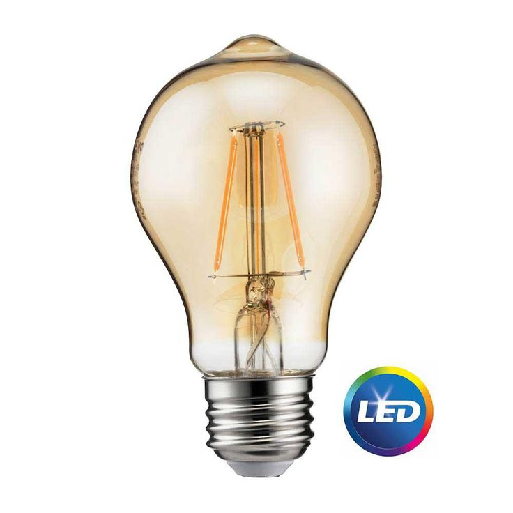 Philips 60W Equivalent Vintage Soft White A19 Dimmable LED Light Bulb