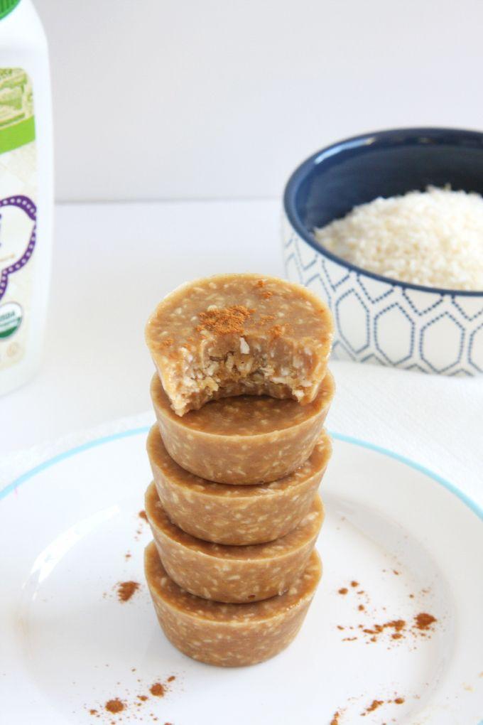Fudgy Coconut Tahini Bites
