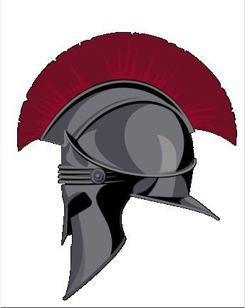 Trojan Helmet logo for Troy University