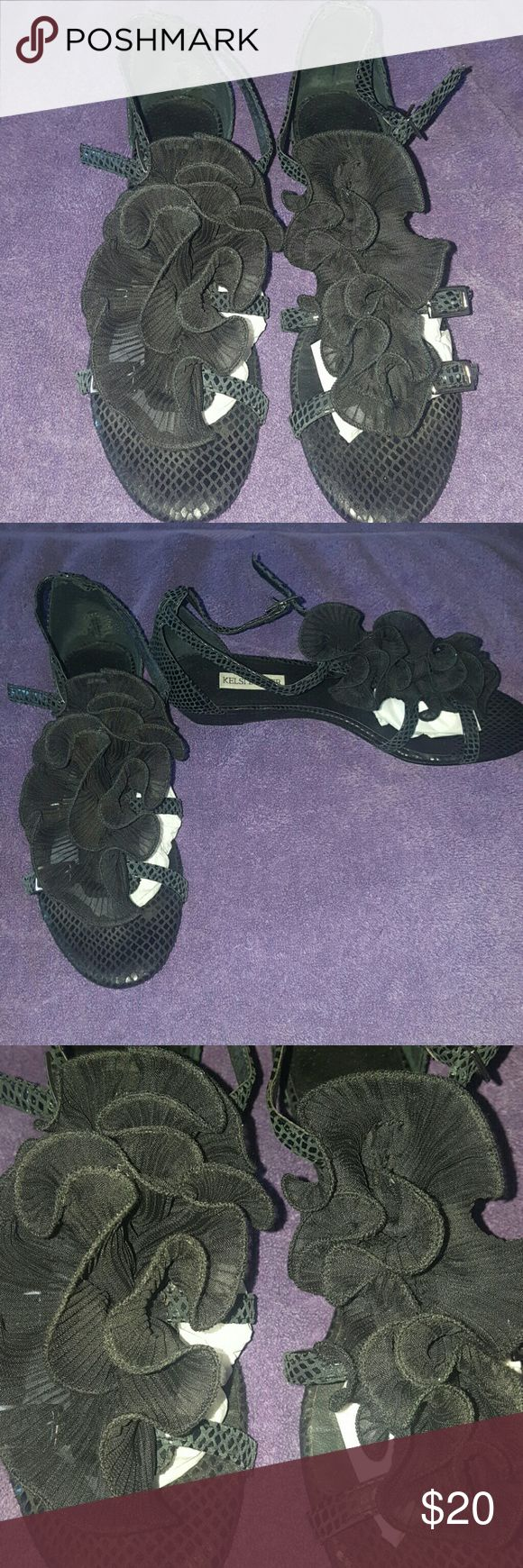 Kelsi Dagger Used Kelsi Dagger shoes in excellent condition worn a few times great for the summer Kelsi Dagger Shoes
