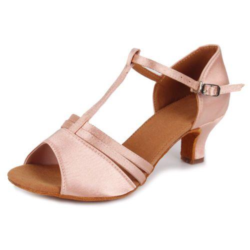 Kevin Fashion - Zapatos de boda a la moda Mujer, Marrón - Champange, 43 EU