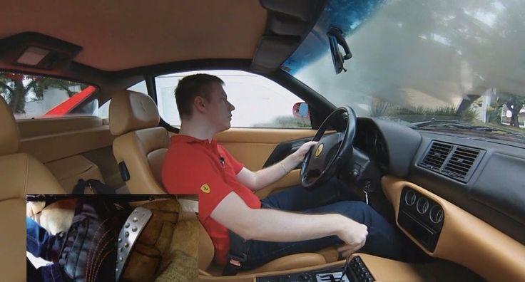 Garagem do Bellote TV: Punta-tacco e dicas de direção (Ferrari F355 Berl...