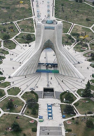 artmis7.blogspot.com Azadi (Liberty) Tower is one of the symbols of Tehran City, the capital of Iran, and marks the west entrance to the city.