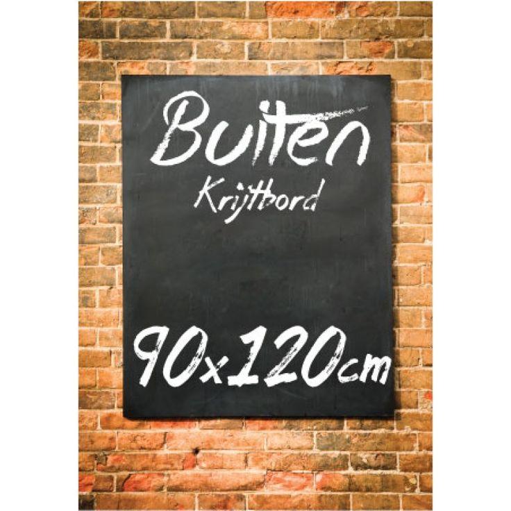Krijtbord Buiten 90x120 cm €73