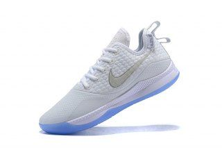 d67aa278071 Clean Nike Lebron Witness 3 Pure Platinum Silver Men s Sneaker Basketball  Shoes