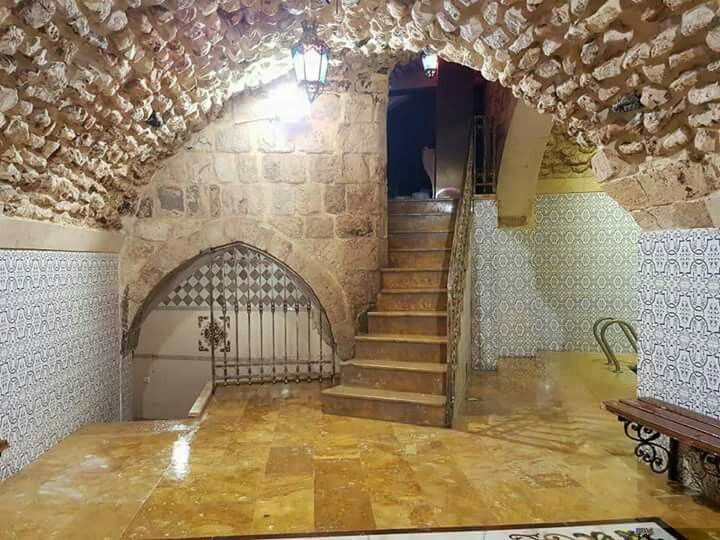 # Old Aleppo City ... Bath Al-Kawas after its restoration and near its opening