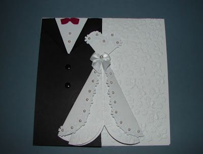Cards with Debbie: WEDDING CARD