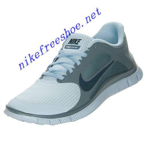 Nike Free 40 V3 Womens Light Armory Blue Armory Navy 580406 444